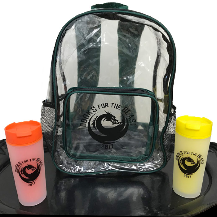 Backpack and Tumblers